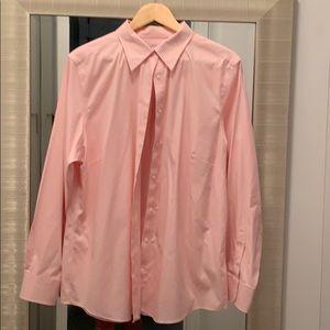 Brooks Brothers - Pink Stretch Cotton No Iron EUC